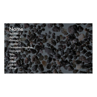Beautiful Pebbles from Lanzarote, Canary Isles Double-Sided Standard Business Cards (Pack Of 100)