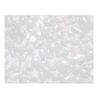Beautiful Pebbles from Magnetite, Oneuli, Puu Olai Custom Letterhead