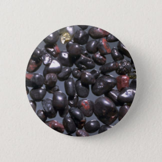 Beautiful Pebbles from Magnetite, Oneuli, Puu Olai Pinback Button