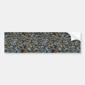 Beautiful Pebbles from Rangiroa French Polynesian Bumper Sticker