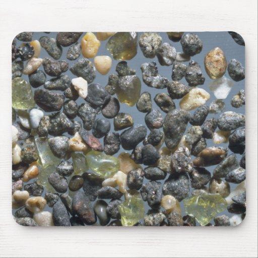 Beautiful Pebbles from Waimea, Hawaii Mouse Pad