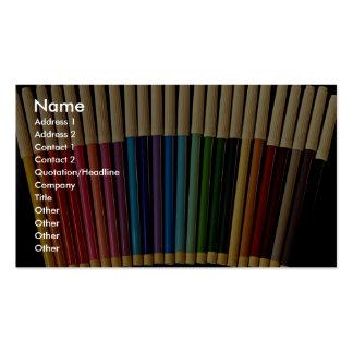 Beautiful Pen set Business Card Template