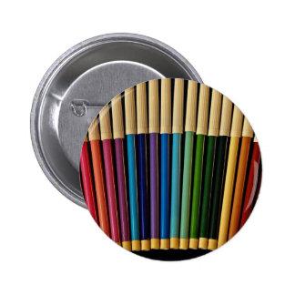 Beautiful Pen set Pinback Button