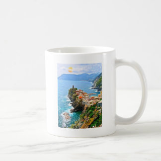 Beautiful Peninsula, Vernazza, Italy Classic White Coffee Mug