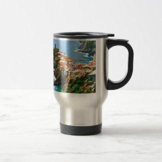 Beautiful Peninsula, Vernazza, Italy 15 Oz Stainless Steel Travel Mug