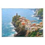 Beautiful Peninsula, Vernazza, Italy Place Mat