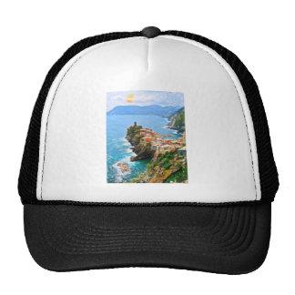 Beautiful Peninsula, Vernazza, Italy Trucker Hat
