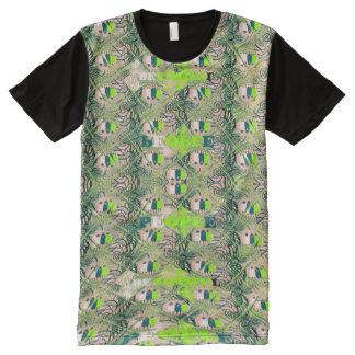 Beautiful People African Seamless art Motif All-Over-Print T-Shirt