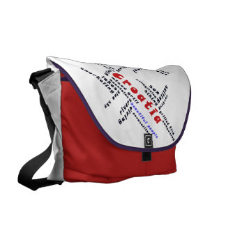 Beautiful people courier bags