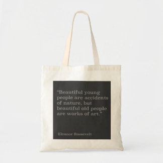 Beautiful people quote tote budget tote bag