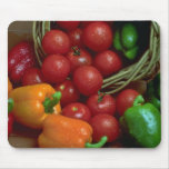 Beautiful Peppers and tomatoes Mouse Pad