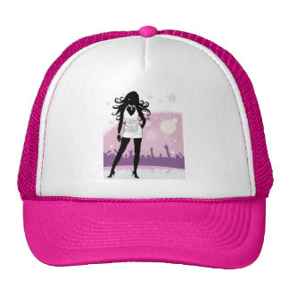 Beautiful Performer on Stage Hat