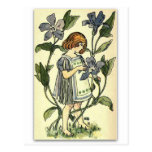 Beautiful Periwinkle by NELLIE BENSON Postcard
