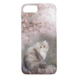 Beautiful persian kitty cat iPhone 7 case