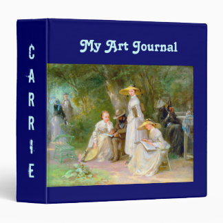 Beautiful Personalized Binder for your Art Journal
