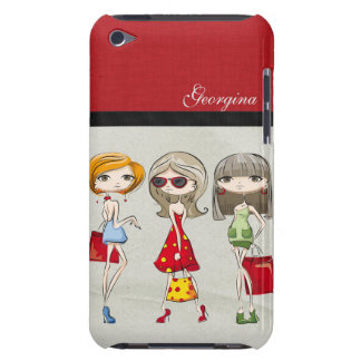 Beautiful Personalized Custom Girly MOD Shopping iPod Touch Case-Mate Case