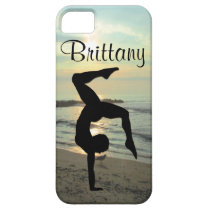 BEAUTIFUL PERSONALIZED GYMNASTICS IPHONE CASE