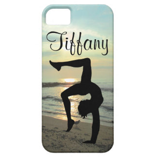 BEAUTIFUL PERSONALIZED GYMNASTICS IPHONE CASE iPhone 5 COVER