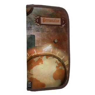 Beautiful Personalized Steampunk Planner rickshaw_folio