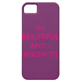 """Beautiful"" phone case"