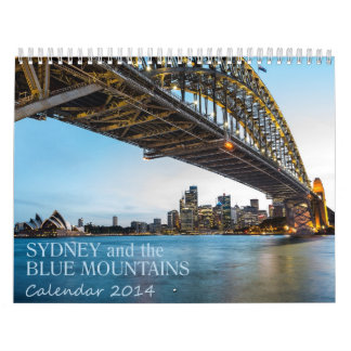 Beautiful Photo Calendar Sydney and Blue Mountains