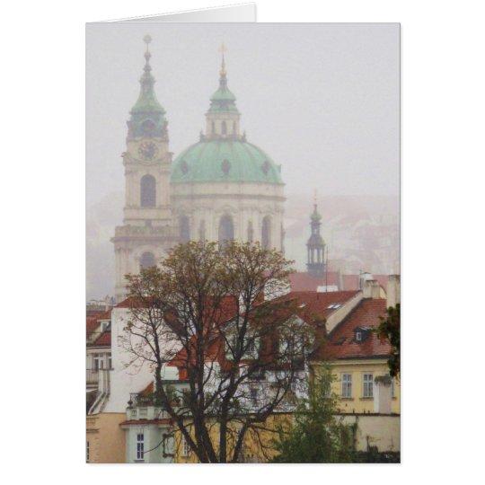 Beautiful Photo of Old Town Prague Card
