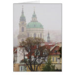 Beautiful Photo of Old Town Prague Greeting Cards