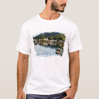 Beautiful  photo of small village of Dornie with T-Shirt