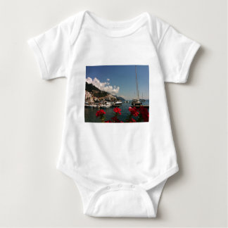 Beautiful Photograph of the Amalfi Coast, Italy Baby Bodysuit