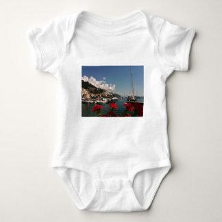 Beautiful Photograph of the Amalfi Coast, Italy Baby Bodysuit