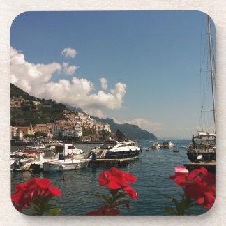 Beautiful Photograph of the Amalfi Coast, Italy Drink Coaster