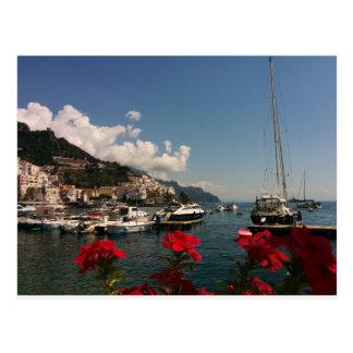 Beautiful Photograph of the Amalfi Coast, Italy Postcard