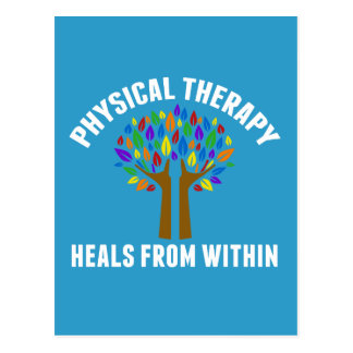 Beautiful Physical Therapy Inspirational Quote Postcard