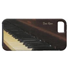 Beautiful Piano iPhone 5 Case