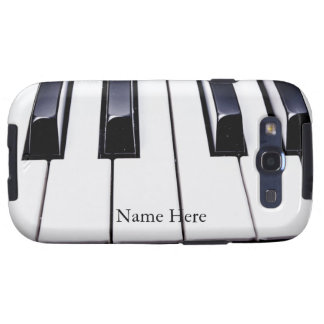 Beautiful Piano Keys Samsung Galaxy S3 Case