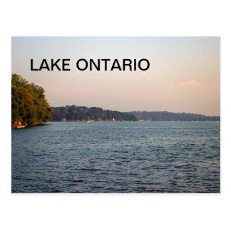 Beautiful picture of Lake Ontario Postcard
