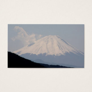 Beautiful Picture of Mt. Fuji in Japan Business Card