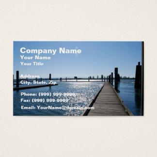 Beautiful Pier Business Card