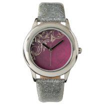 Beautiful Pink and gold elegant design Wrist Watch
