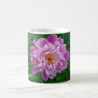 Beautiful pink and lilac flower. coffee mug