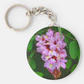 Beautiful Pink Blossom Flowers Keychains