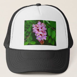 Beautiful Pink Blossom Flowers Trucker Hat