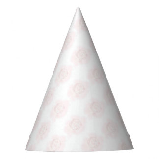 Beautiful Pink Cabbage Rose Party Hat