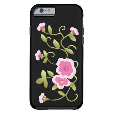 Beautiful Pink Chinese Floral Fine Art Tough iPhone 6 Case