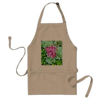 Beautiful Pink Cream Green Hydrangea Flowers Adult Apron