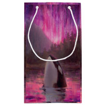 Beautiful Pink Custom Orca Killer Whale Gift Bag