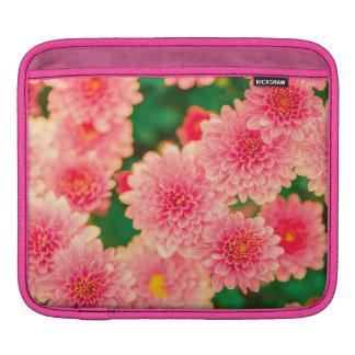 Beautiful Pink Dahlias Flowers Blossom iPad Sleeve