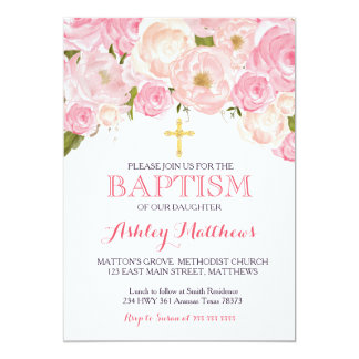 Beautiful Baptism Invitations with best invitations template