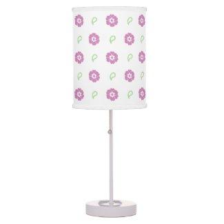 Beautiful Pink Floral Lamp