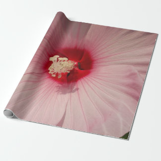Beautiful Pink Flower Close Up PhotoWrapping Paper